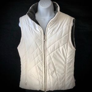 Free Country Reversible Black & White Puffy Vest